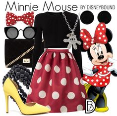 It's National Polka Dot Day! (Like, who decides these days!?)In celebration - here is my favorite DisneyBound look for Minnie Mouse!Click here to rock the look!