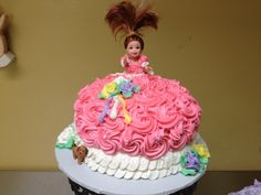 Small doll cake  made by Glaus Bakery in Salt Lake City, UT