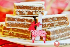 Fotorecept | Griláž Christmas Baking, Christmas Cookies, Christmas Recipes, Easter Recipes, Vanilla Cake, Fudge, Sweet Recipes, Tiramisu, Good Food