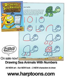Drawing Animals With Numbers Www Picturesso Com