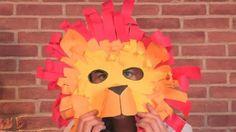 Costumi di Carnevale ecologici fai da te: il leone e il coccodrillo [VIDEO] | Ecoo