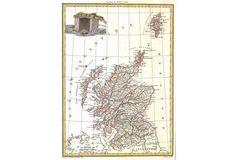 Map of Scotland, 1790