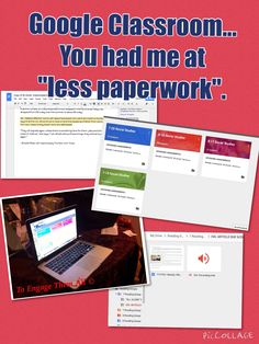 Google classroom- good ideas about leveled texts, audio feedback, and comprehension questions
