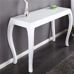 Konsola Barocco white