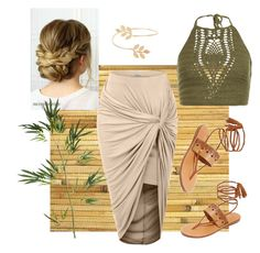 """""""Bamboo & Braid"""" by clob2016 on Polyvore featuring Burke Decor, New Look, LE3NO, Soludos, Miss Selfridge and Pier 1 Imports"""
