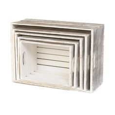 I pinned this 5 Piece Trillium Crate Set in White from the Willow Specialties event at Joss and Main!