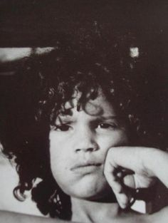 Slash as a child. Young and cute