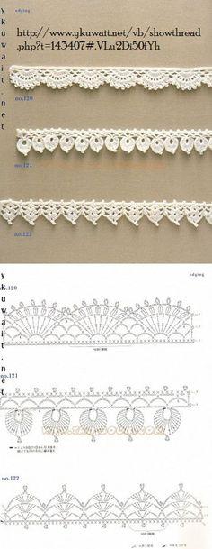 Crochet Lace Edging More Mehr
