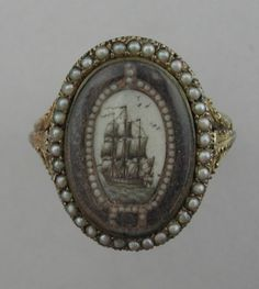 Mourning Ring C. 1800