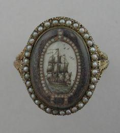 Mourning Ring C. 1800