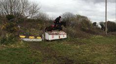 James competing Sierra at hunter trials 10/04/16. VIDEO: https://www.facebook.com/CoopersHillLivery/videos/1043149172398919/ #loveirishhorses #horseforsale