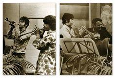 The Beatles in the Recording Studio.