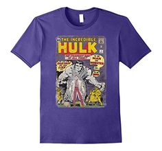 Marvel+Comics+Retro+Shirt Products : The Incredible Hulk Classic Retro Comic Book Graphic T-Shirt
