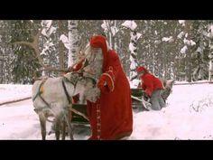 Corsa delle renne di Babbo Natale in Lapponia in Finlandia