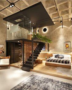 Alguém me explica oq é esse Loft??!!  MEELLLDELS! Quando posso me mudar?  Casa Cor RJ - Projeto Intown Arquitetura