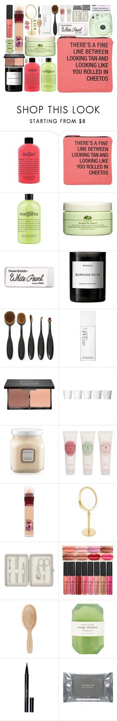 """""""-theres a fine line between looking tan and looking like youve been rolled in cheetos 😂"""" by itsfashioninfinity ❤ liked on Polyvore featuring beauty, philosophy, About Face Designs, Fuji, Origins, Paper Mate, Byredo, NARS Cosmetics, blacklUp and Laura Mercier"""