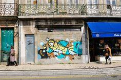 Porto street art by Hazul