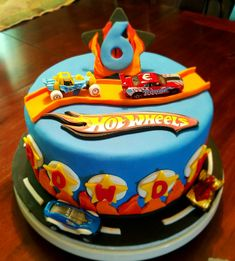 Great Image of Hot Wheels Birthday Cake Hot Wheels Birthday Cake Hot Wheels Birthday Cake Lds Specialties Custom Cakes In 2019 Hot Wheels Party, Bolo Hot Wheels, Hot Wheels Cake, Hot Wheels Birthday, Happy Birthday Cake Pictures, Birthday Cake Card, Themed Birthday Cakes, Happy Birthday Cakes, Themed Cakes
