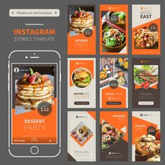 3 Key Tips on Social Media Content Templates and Why You Need to Use Them in Your Efforts Food Design, Food Graphic Design, Food Poster Design, Menu Design, Design Design, Social Media Template, Social Media Design, Social Media Content, Social Media Graphics
