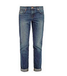 J Brand 1214 Aidan mid-rise boyfriend jeans