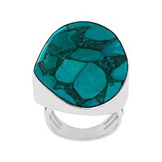 Sajen Mosaic Turquoise Ring in Sterling Silver Size 8 Jewelry.com http://www.amazon.com/dp/B0108OQKX8/ref=cm_sw_r_pi_dp_acbNvb1Y712FK