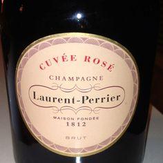 Laurent Perrier, Cuvee Rose, Champagne, France