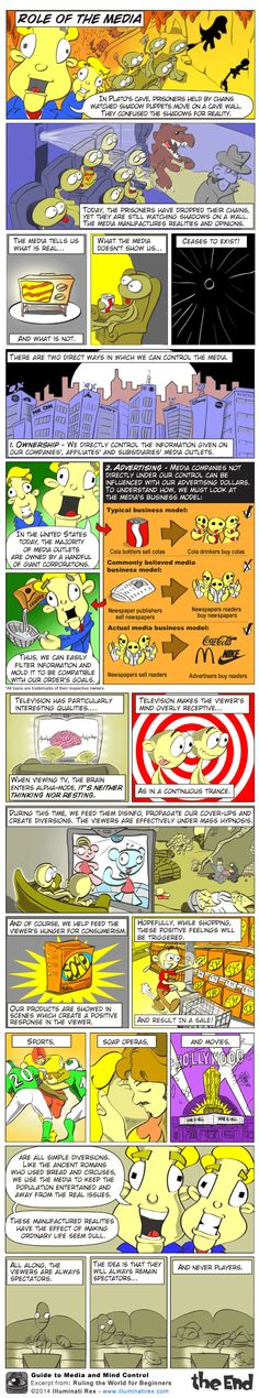 NWO: Illuminati Guide to Media and Mind Control | Illuminati Rex #illuminati #NWO #newworldorder