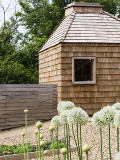 Browse Gardenista's collection of posts on Garden Visits to get ideas for your home garden, landscaping needs, or outdoor space which involve Garden Visits. Timber Buildings, Garden Buildings, Outdoor Buildings, Outdoor Rooms, Outdoor Gardens, Outdoor Living, Georgian Townhouse, Cedar Shingles, Timber Cladding