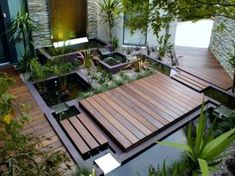 Compact water features, small-space landscaping, garden inspiration, and of course all things relating to container water gardening, patio ponds and much more. Modern Landscape Design, Modern Landscaping, Contemporary Landscape, Backyard Landscaping, Landscaping Ideas, Backyard Ideas, Balcony Ideas, Landscaping Software, Landscape Plans