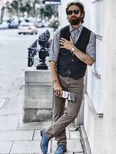 e25105022fd6c Maulwurf-Hose in Farbe Braun Regular Fit jetzt online kaufen   Mey   Edlich