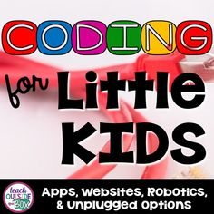 "Coding for Little Kids Coding is all the rage in elementary schools right now, and it's not hard to see why!  Coding, or the language of programming, is quickly becoming a language that our students need to learn how to ""speak,"" even as young as Kindergarten.  Fluency in coding is necessary in order to design …"