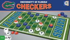 Go Gators! University of Florida Checkers Game