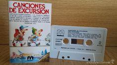 LOS VACILONES. CANCIONES DE EXCURSIÓN. MC / DISCOS MERCURIO - 1985 / CALIDAD LUJO.