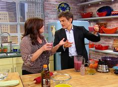 Dr. Oz's Wrinkle Fighting Smoothie