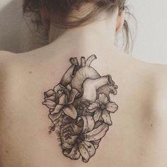 Tattoos — Flower Heart Tattoo