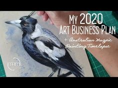 My Art Business Plan for 2020 - YouTube Process Art, Business Planning, Happy New Year, My Arts, How To Plan, Youtube, Painting, Life, Animals