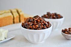 Crockpot Bacon Bourbon Baked Beans