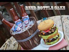 ▶ Beer Bottle Cake Tutorial - YouTube