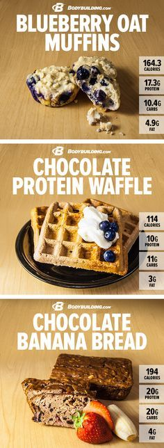HEALTHY #RECIPES: 5 SWEET PROTEIN TREATS THAT ARE THE BOMB! Feed your sweet tooth—and your gains—with these 5 explosively delicious recipes from the athletes of Grenade! Bodybuilding.com