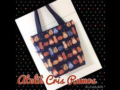 Regina Molina shared a video Fabric Bags, Craft Videos, Craft Tutorials, Purses And Bags, Patches, Reusable Tote Bags, Handmade, Youtube, Zippers