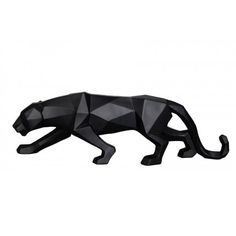 Present Time-Present Time - Black Panther Origami Statue colours) - fox - warm pink Black Panthers, Origami, Pantera Logo, Black Panther Tattoo, Deco Originale, Desenho Tattoo, Figure Drawing, Big Cats, Sculpture