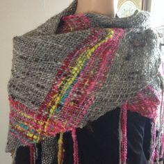Pretty triloom shawl