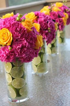 Flowers for corporate event