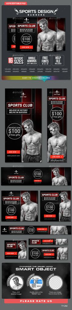 Sports Banners Template   #sportbanner   Download: http://graphicriver.net/item/sports-banners/10364150?ref=ksioks