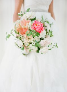 Bright pops of color: http://www.stylemepretty.com/2015/08/08/25-bouquets-that-will-convince-you-to-blow-your-budget-on-florals/