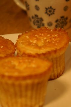 Apple Muffins. Find the recipe here: http://awaytoawomansheart.blogspot.no/2012/02/teatime-darling.html