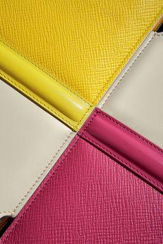 Smythson Panama  #smythson #panama  #pink #yellow #techcovers