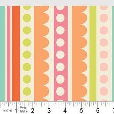 Zoe Pearn - Sweet Nothings - Sweet Stripes in Cream