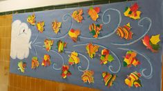 Autumn Activities For Kids, Fall Crafts For Kids, Art For Kids, Diy And Crafts, Arts And Crafts, Autumn Crafts, Autumn Art, Bricolage Halloween, Apple Theme