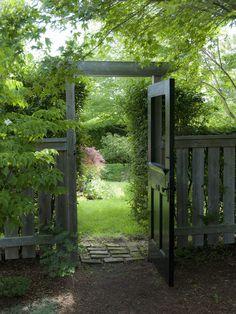 Door as a gate